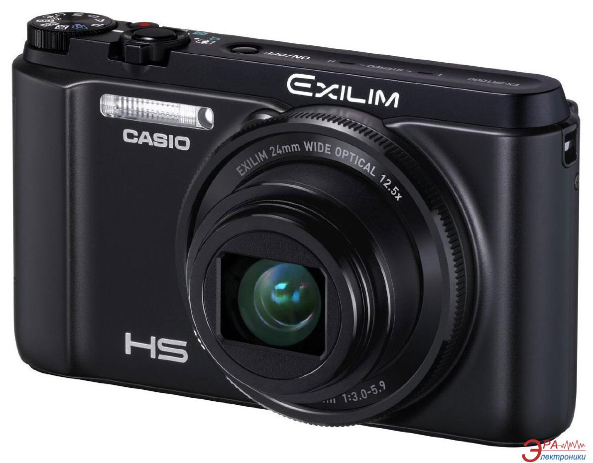 Цифровой фотоаппарат CASIO Exilim EX-ZR1000 Black (EX-ZR1000BKECA)