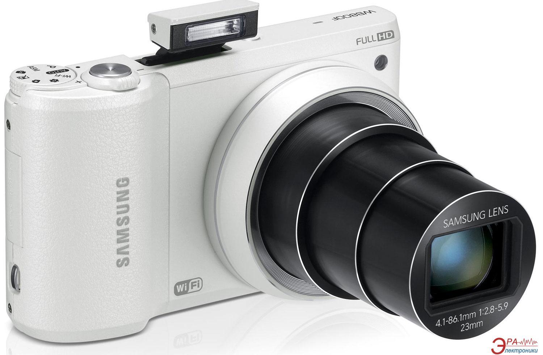 Цифровой фотоаппарат Samsung WB800F White (EC-WB800FBPWRU)