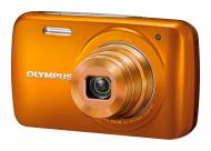 Цифровой фотоаппарат Olympus VH-210 + case + SDHC 8Gb KIT Orange