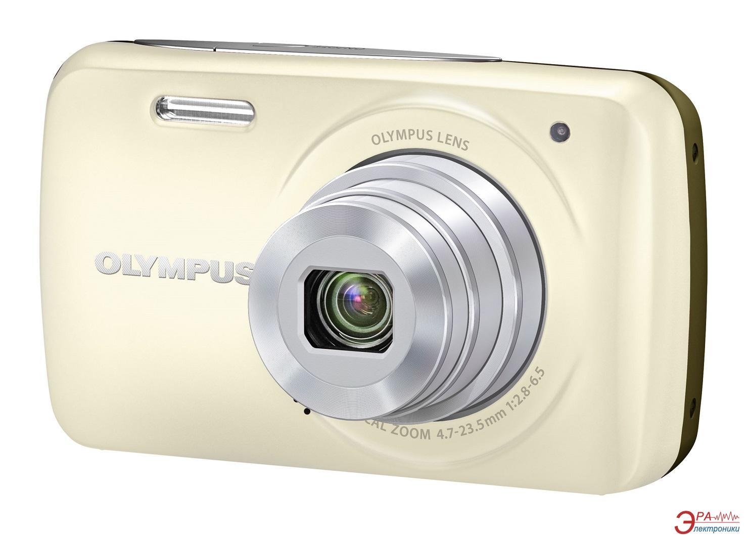 Цифровой фотоаппарат Olympus VH-210 + case + SDHC 8Gb KIT White
