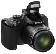 Цифровой фотоаппарат Nikon Coolpix P520 Black (VNA251E1)