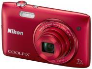 �������� ����������� Nikon COOLPIX S3500 Red (VNA292E1)