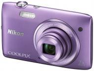 �������� ����������� Nikon COOLPIX S3500 Purple (VNA293E1)