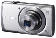 Цифровой фотоаппарат Canon Powershot A3500 IS Silver (8162B014)