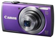 Цифровой фотоаппарат Canon Powershot A3500 IS Purple (8165B010)