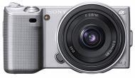 �������� ����������� Sony NEX-5 + 16mm KIT Silver (NEX5AS.CEE2)
