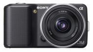 �������� ����������� Sony NEX-3 + �������� 16mm KIT Black (NEX3AB.CEE2)