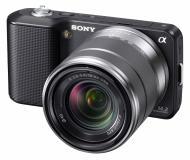 Цифровой фотоаппарат Sony NEX-3 + объектив 18-55mm KIT Black (NEX3KB.CEE2)