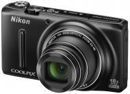 Цифровой фотоаппарат Nikon Coolpix S9400 Black (VNA371E1)