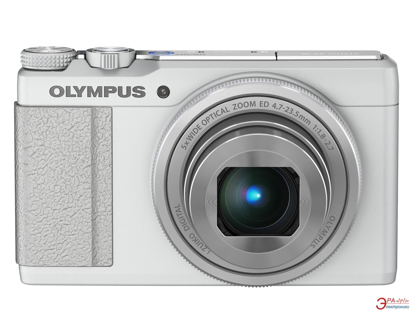 Цифровой фотоаппарат Olympus XZ-10 White (V101030WE000)