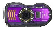 Цифровой фотоаппарат Pentax Optio WG-3 GPS Black\Violet (12672)