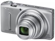 Цифровой фотоаппарат Nikon Coolpix S9400 Silver (VNA370E1)