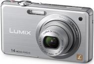 Цифровой фотоаппарат Panasonic LUMIX DMC-FS11 Silver (DMC-FS11EE-S)