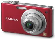 Цифровой фотоаппарат Panasonic LUMIX DMC-FS62 Red (DMC-FS62EE-R)