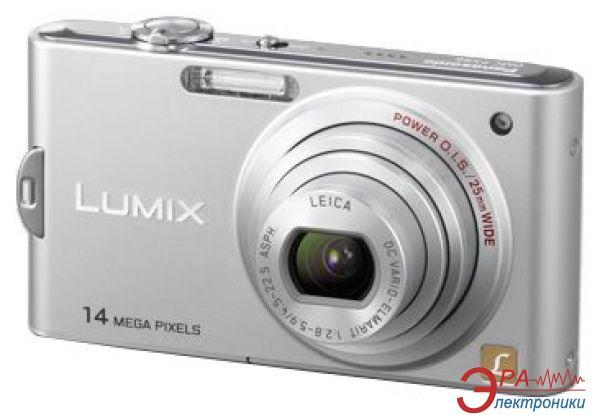 Цифровой фотоаппарат Panasonic LUMIX DMC-FX66 Silver (DMC-FX66EE-S)