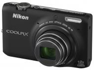 �������� ����������� Nikon Coolpix S6500 Black (VNA271E1)
