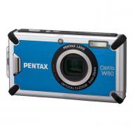 Цифровой фотоаппарат Pentax Optio W80 Blue (17752)