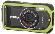 Цифровой фотоаппарат Pentax Optio W90 Green (16427)
