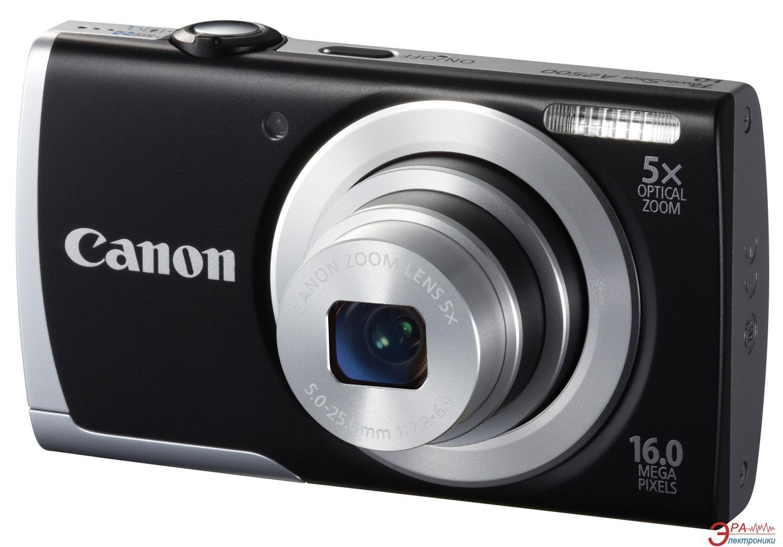 Цифровой фотоаппарат Canon PowerShot A2500 Black (8253B013)