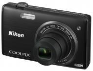 Цифровой фотоаппарат Nikon Coolpix S5200 Black (VNA281E1)