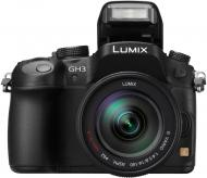 Цифровой фотоаппарат Panasonic Lumix DMC-GH3 14-140mm Kit Black (DMC-GH3HEE-K)
