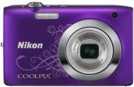 �������� ����������� Nikon Coolpix S2700 Lineart Purple (VNA305E1)