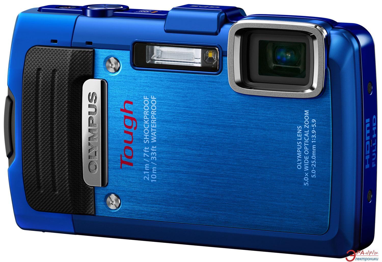 Цифровой фотоаппарат Olympus TG-830 Blue (V104130UE000)