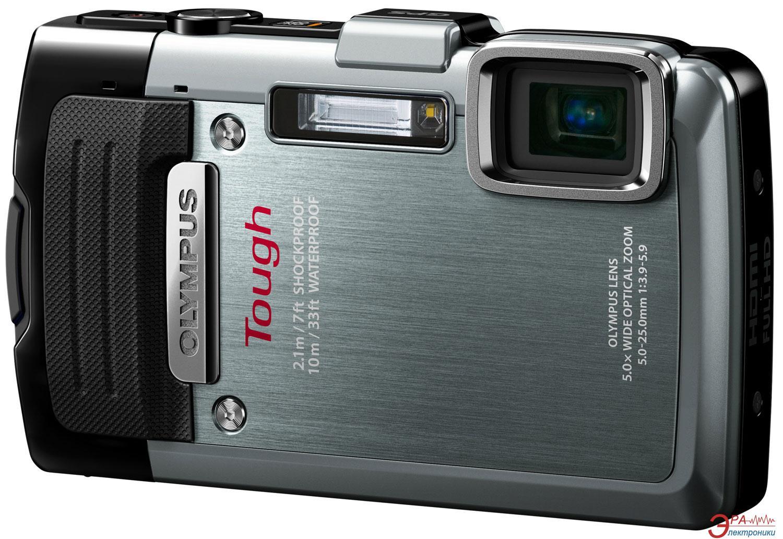 Цифровой фотоаппарат Olympus TG-830 Silver (V104130SE000)