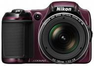 Цифровой фотоаппарат Nikon Coolpix L820 Plum (VNA333E1)