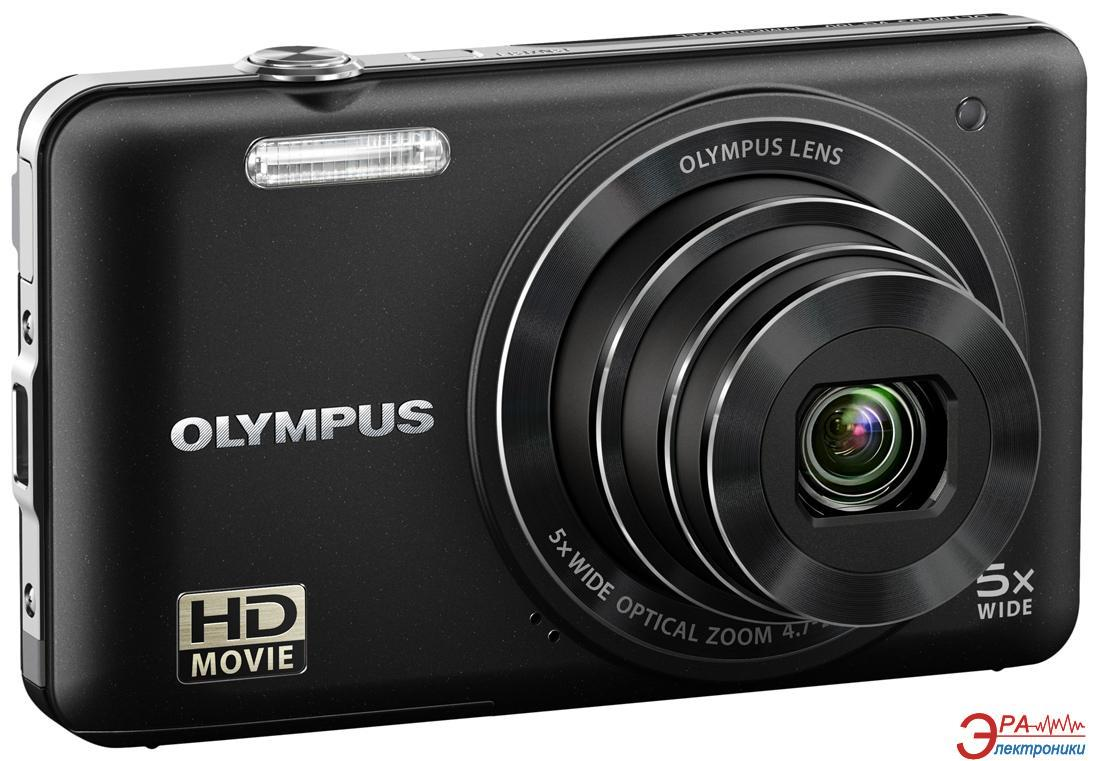 Цифровой фотоаппарат Olympus VG-160 Black + case + SDHC 8 Gb KIT