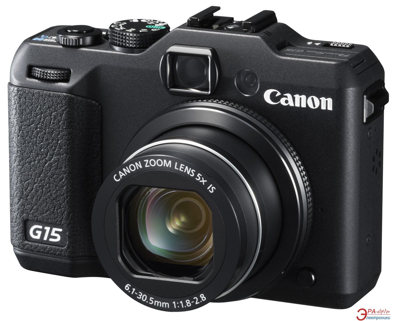 Цифровой фотоаппарат Canon Powershot G15 Black (6350B011)