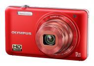 Цифровой фотоаппарат Olympus VG-160 Red + case + SDHC 8 Gb KIT