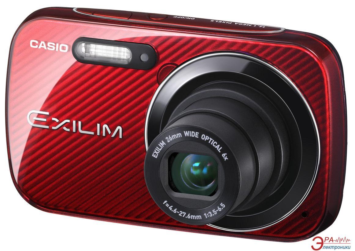 Цифровой фотоаппарат CASIO Exilim EX-N50 Red (EX-N50RDECC)