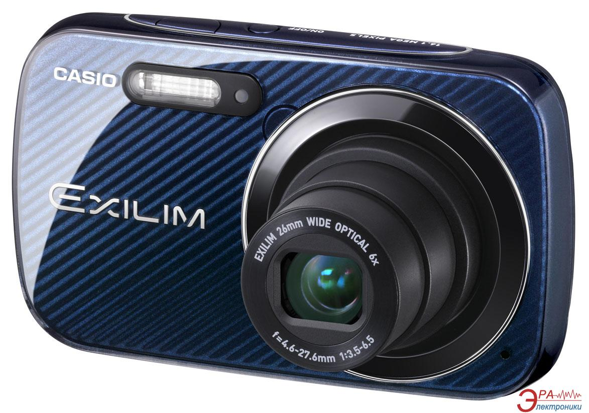 Цифровой фотоаппарат CASIO Exilim EX-N50 Blue (EX-N50BEECD)