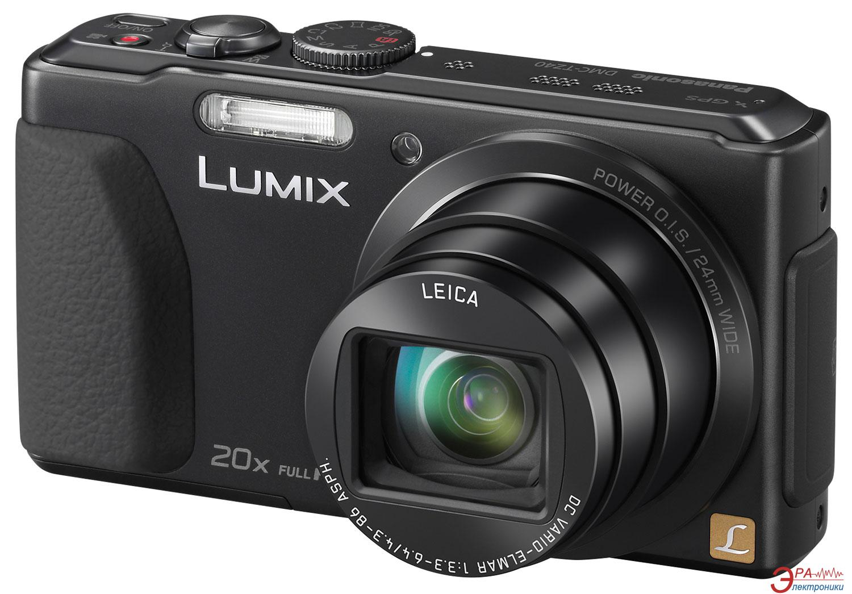 Цифровой фотоаппарат Panasonic LUMIX DMC-TZ40 Black (DMC-TZ40EA-K)
