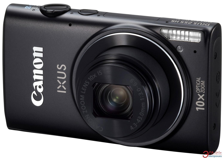 Цифровой фотоаппарат Canon IXUS 255 HS Black (8207B009)