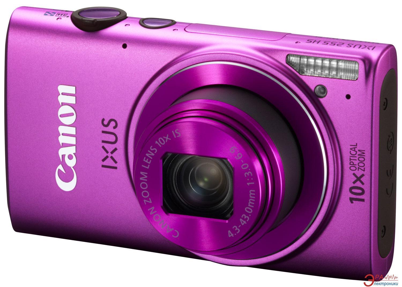 Цифровой фотоаппарат Canon IXUS 255 HS Pink (8213B011)