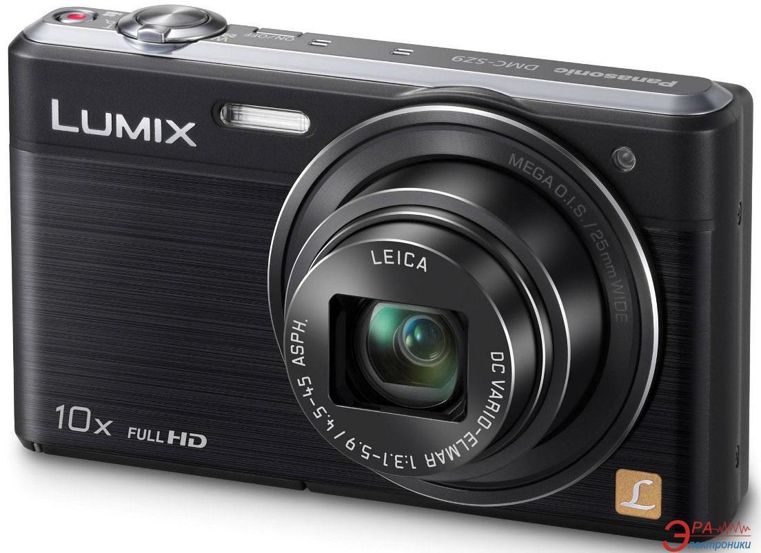 Цифровой фотоаппарат Panasonic LUMIX DMC-SZ9 Black (DMC-SZ9EA-K)
