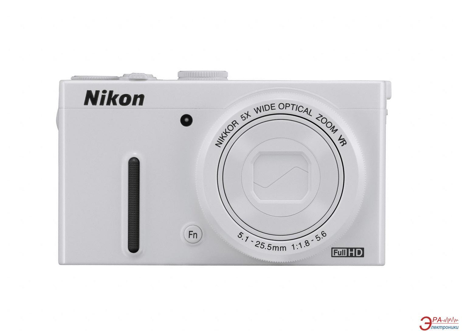 Цифровой фотоаппарат Nikon Coolpix P330 White (VNA241E1)