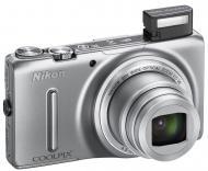 Цифровой фотоаппарат Nikon Coolpix S9500 Silver (VNA260E1)