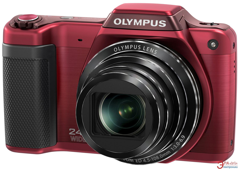 Цифровой фотоаппарат Olympus SZ-15 Red (V102110RE000)