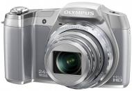 Цифровой фотоаппарат Olympus SZ-16 Silver (V102100SE000)