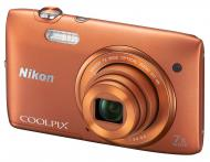 �������� ����������� Nikon COOLPIX S3500 Orange (VNA294E1)