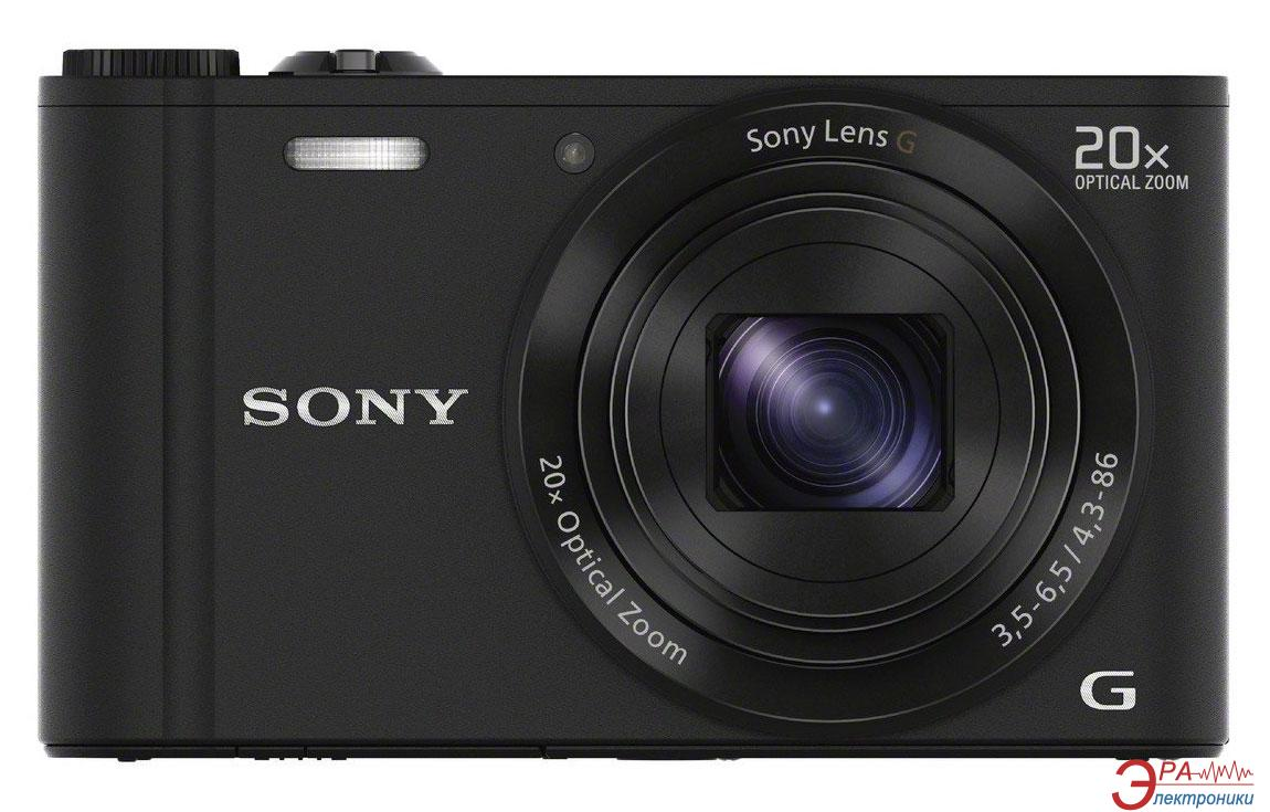 Цифровой фотоаппарат Sony Cyber-shot DSC-WX300 Black