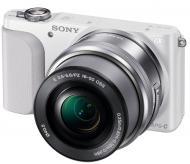 Цифровой фотоаппарат Sony NEX-3N + объектив 16-50 mm White (NEX3NLW.RU2)
