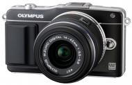 Цифровой фотоаппарат Olympus E-PM2 14-42 mm kit Flash Air Black (V206021BE010)