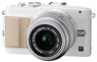 Цифровой фотоаппарат Olympus E-PL5 14-42 mm Flash Air White/ Silver (V205041WE010)