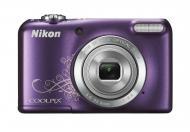 Цифровой фотоаппарат Nikon Coolpix L27 Lineart Purple (VNA364E1)