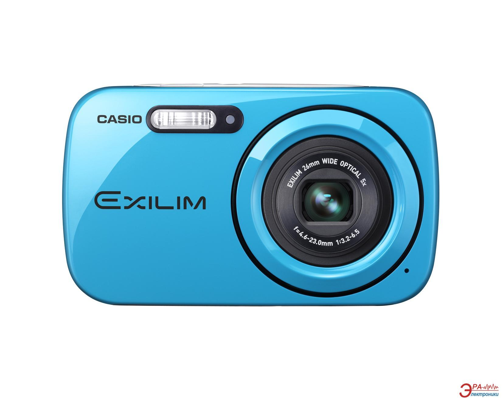 Цифровой фотоаппарат CASIO EXilim EX-Z32 + чехол Blue (EX-Z32BEECC)