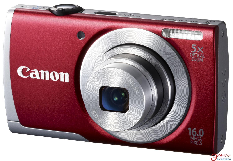 Цифровой фотоаппарат Canon Powershot A2600 Red (8159B012)